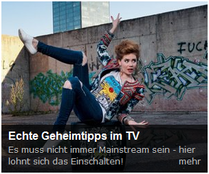 mainstream? Nein nein!